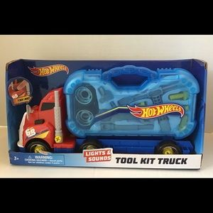 Hot Wheels DIY Tool Kit Truck with Lights/Sounds